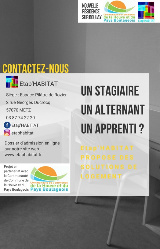 Flyer 1 etap habitat Boulay 2018